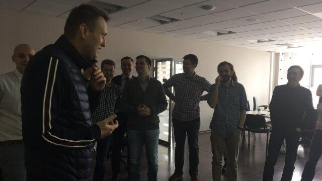 """Nawalny wyszedł z aresztu. """"Dziękuję wszystkim za wsparcie"""""""