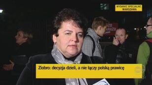 Marzena Wróbel o wykluczeniu polityków z PiS