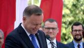 """""""Nie wytrzymam muszę coś Państwu opowiedzieć"""". Andrzej Duda z wizytą w Koszalinie"""