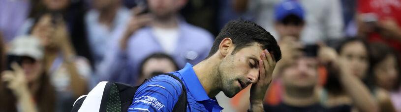 Ból był zbyt silny. Djoković nie obroni tytułu w US Open