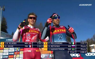 Klaebo wygrał sprint stylem dowolnym w Lenzerheide