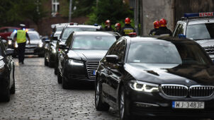 State Protection Service cars collided in August. Was President Duda in one of them?