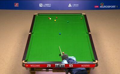 Ten błąd zadecydował o porażce Williamsa w 2. rundzie Szanghaj Masters