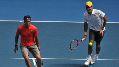 Federer i Nadal na Santiago Bernabeu. Prezydent Realu marzy o rekordzie