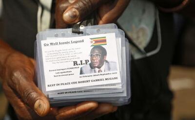 Pogrzeb Mugabego odbędzie się dopiero za około 30 dni