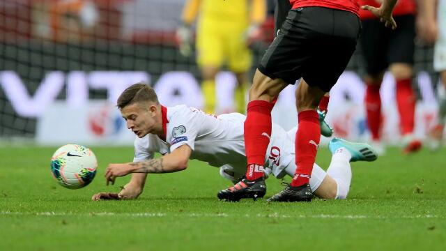 """Debiutant tłumaczy taktykę na mecz z Austrią. """"Nie zawsze można grać pressingiem"""""""