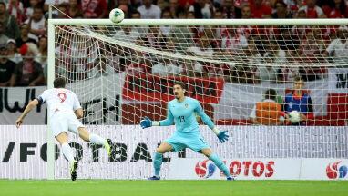 Maszyna się zacięła. Lewandowski bez gola na Narodowym pierwszy raz od dawna