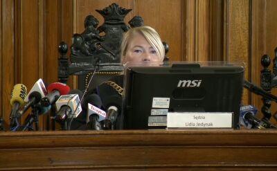 Sędzia Jedynak będzie nadal czytać wyrok ws. Amber Gold