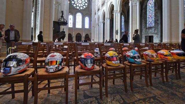 Rodzina i gwiazdy Formuły 1 pożegnały Anthoine'a Huberta