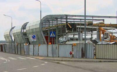 Rozbiórka terminala lotniska w Radomiu dobiega końca