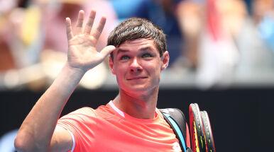 Majchrzak pożegnał się z US Open. Nie dał rady Białorusinowi