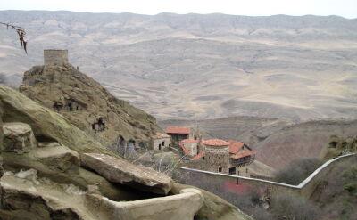 Do incydetu doszło w pobliżu zespołu monastyrów Dawit Garedża