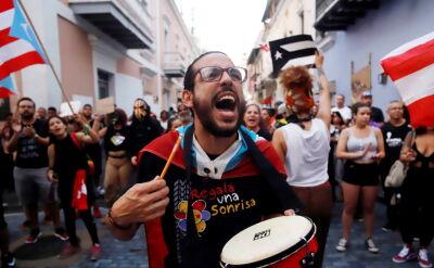 Masowe protesty w Puerto Rico