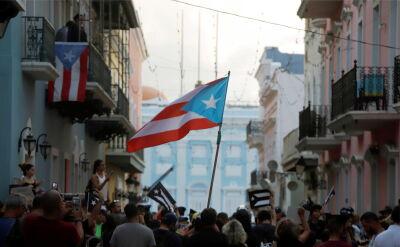 Protestujący domgają się rezygnacji gubernatora Ricardo Rossello