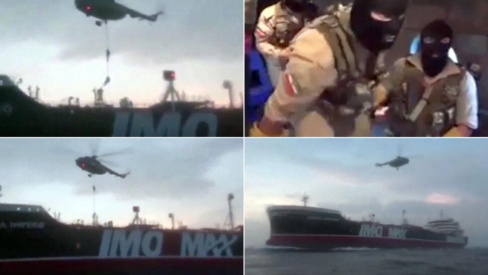 Motorówki, śmigłowiec i komandosi w kominiarkach. Tak Irańczycy przejęli brytyjski tankowiec