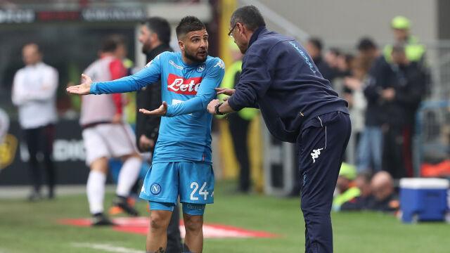 """Kapitan Napoli atakuje Sarriego. """"To była zdrada"""""""