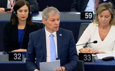 Dacian Ciolos: nasza grupa jest gotowa panią poprzeć