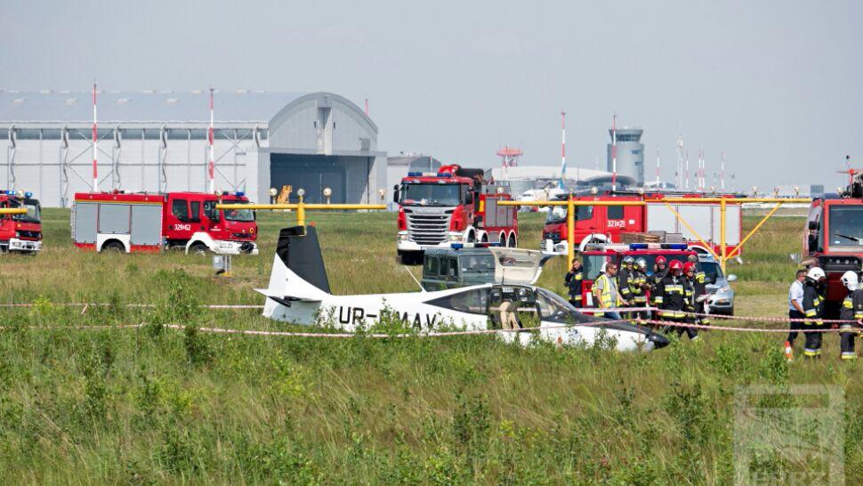 Awaryjne lądowanie samolotu. Są ranni