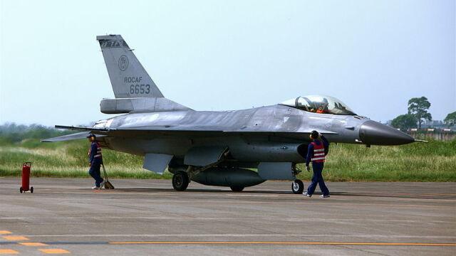 Katastrofa myśliwca  w pierwszym dniu wielkich ćwiczeń