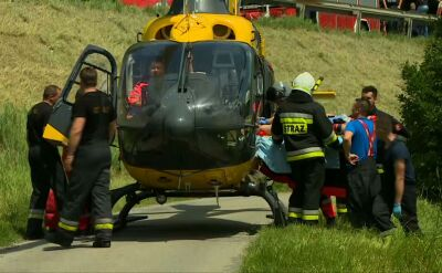 Ranni trafiają do ośmiu szpitali