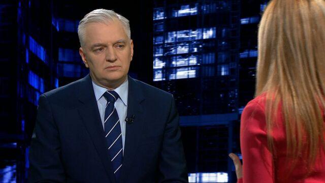 Gowin: my wyjdziemy z tego zwycięsko, tylko Polski szkoda
