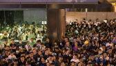 Na ulice Hongkongu wyszli pracownicy administracji publicznej