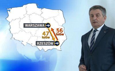 Ponad sto lotów marszałka Kuchcińskiego rządowymi samolotami