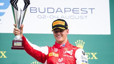 Pierwszy triumf Micka Schumachera w F2. Cztery miesiące po debiucie