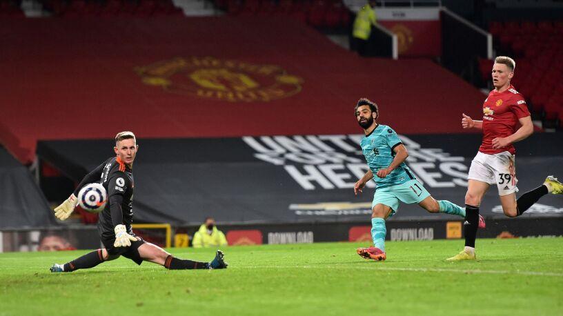 Grad goli w Manchesterze. Liverpool nie traci nadziei na Ligę Mistrzów