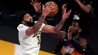 Davis przyćmił Słońca. Lakers z ważną wygraną