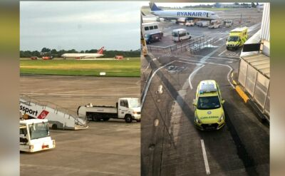 Awaria Boeinga 763 na irlandzkim lotnisku