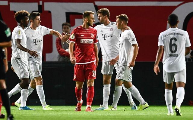 Bayern na wielkim luzie. Zabawił się z czwartoligowcem
