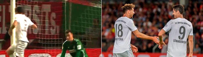 Lewandowski czy Goretzka? Kto strzelił trzeciego gola dla Bayernu?