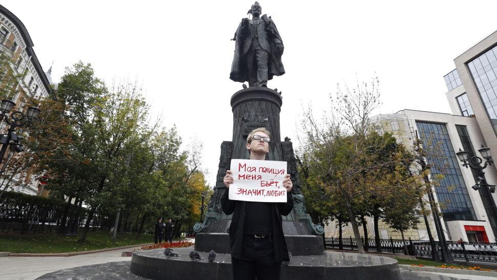 Chcą wolnych wyborów. Seria jednoosobowych pikiet w Moskwie