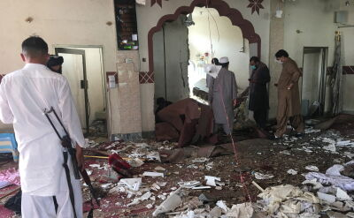 Atak na meczet w Pakistanie