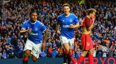 Gerrard przyjedzie na Łazienkowską. Pewna wygrana i awans Glasgow Rangers