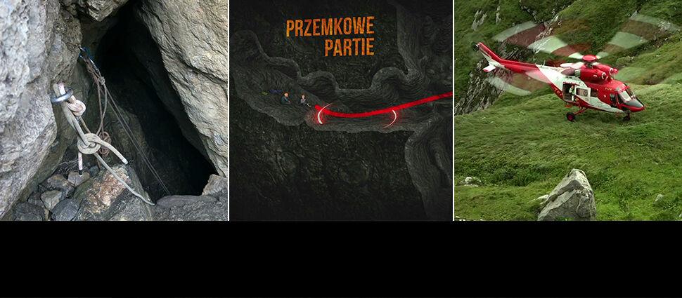 Noc nie przerywa akcji. Naczelnik TOPR:  w jaskini działamy w kompletnej ciemności