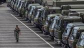Chińskie oddziały przy granicy z Hongkongiem