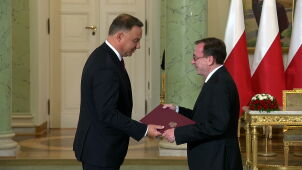 Mariusz Kamiński officially appointed the minister of the interior and administration