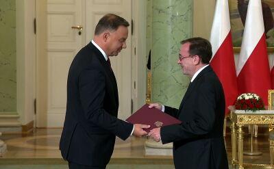 Mariusz Kamiński został nowym szefem MSWiA