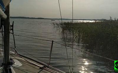 Poszukiwania na jeziorze Kisajno
