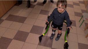 Ktoś ukradł wózek niepełnosprawnego Dawida. Ojciec apeluje do złodzieja