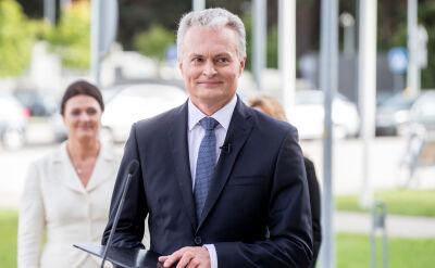 Gitanas Nauseda od 12 lipca objął urząd prezydenta Litwy