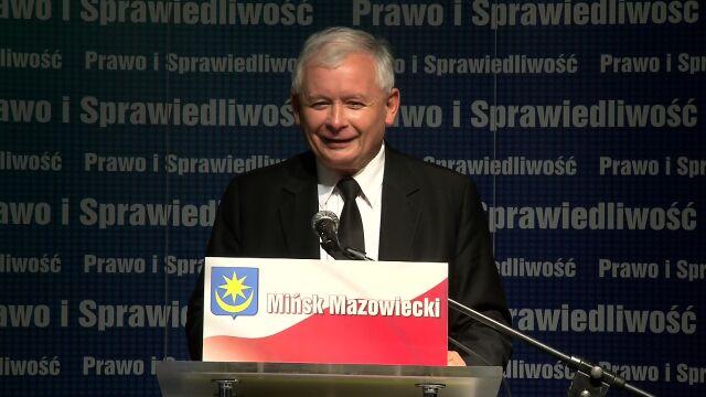 """Kaczyński chce wysłać Tuska do Brukseli. """"Bierzcie go do tej Rady, żeby go tylko tu nie było"""""""
