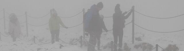 Ślisko i zimno. Atak zimy w górach