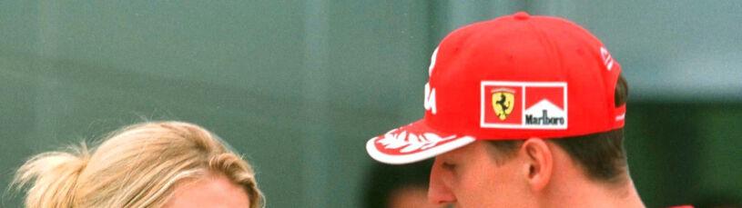 Żona Schumachera odpiera zarzut menedżera.