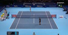 Kapitalna wymiana w meczu Federer - Thiem w ATP Finals