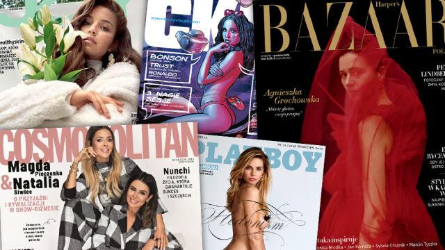 """""""Playboy"""", """"CKM"""" i """"Cosmopolitan"""" znikają z rynku"""