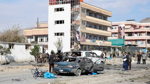 Samochód pułapka eksplodował przed ministerstwem. Zabici i ranni