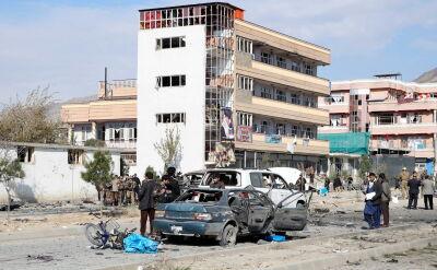 Wybuchu samochodu pułapki w Kabulu. Zabici i ranni